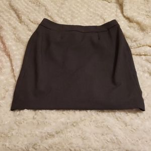 Calvin Klein pencil skirt gry size 6P 21 like new